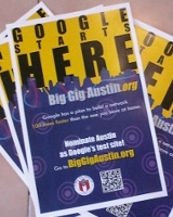 photo of 'Big Gig Austin' posters